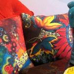 Fiona's Unique Printed Cushions