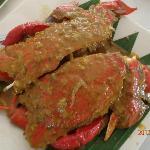 Curacha cooked in Alavar sauce