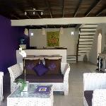 Salon villa violette