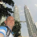 Petronas towers within walking distance