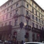 Excellent location opposite Via Montenapoleone