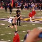 streaker running
