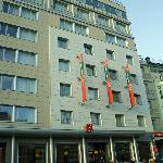 straatkant hotel Ibis Paveletskaya