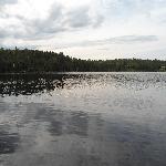 vue des chalets du lac boisvert