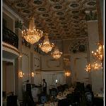 Dinning room ceiling