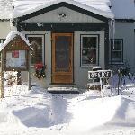 Office in winter