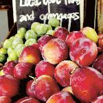 Local plums and greengages from Graham Love