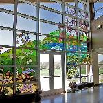 Inside the Botanical Center