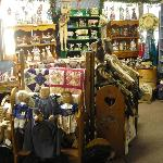 Quilts and tabletoppers at the Cottage Gift Shop