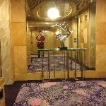 Hall dos elevadores.