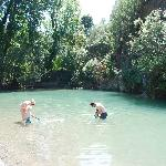 River pools close by