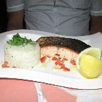 Salmon at Corner Cafe