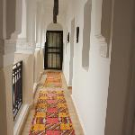 Corridor leading to one of the rooms