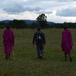 Paseocon los masaais