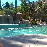 The heated kiddie pool