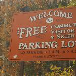 Free parking in Telluride