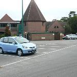 Le car park