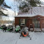 Snowmobile and cottage rentals.