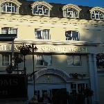 Front hotel entrance