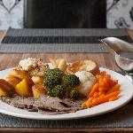Roast dinners every Sunday !