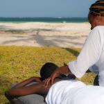 Mzima House - massage on the beach