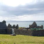 View of the sea from Dunluce ruins