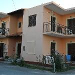KOSTAS Apartments We had room 2 on ground floor to left