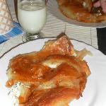 our Serbian breakfast - thanks Ivan!