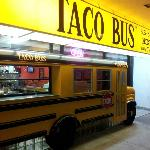 Store front for the downtown Tampa Taco Bus