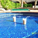 Mudslides : ) at the pool