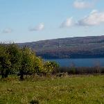 Views of Seneca Lake on the west side-a short walk from 1922 Starkey House