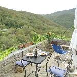 La terrazza dell'appartamentino. Che meraviglia! Relax, Buon cibo, Buon Vino, Buona Compagnia!