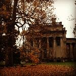 The mansion in the fall 10/25/12