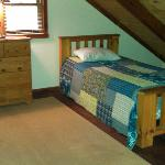 Upstair beds (3 twin beds)