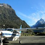 Cessna Caravan at Milford Sound Airport
