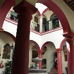 jJardin interior del museo