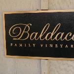 Baldacci Vineyards - sign