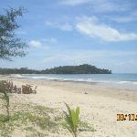 Klong Dao beach view from Lanta Villa