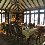 Dining area in the great room
