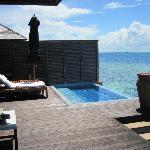 Deluxe Water Villa 312 Deck