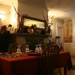 Dining room prepared