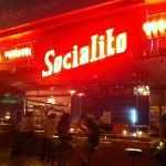 socialito's neon sign