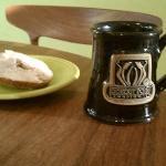 My souvenir mug....first day home!