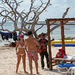 Mariachi Playing At The Pez Quadro Beach Club