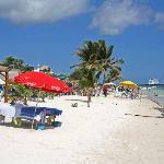 Massage Table At Pez Quadro Beach Club
