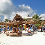 Pez Quadro Beach Club From Water