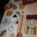 """breakfast con l'immancabile """"focaccia"""""""