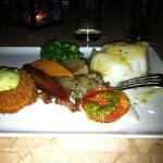 Rockfish and crab cake