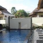 Private pool shared with other unit