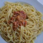Spaghetti with UNI (Sea Urchin)